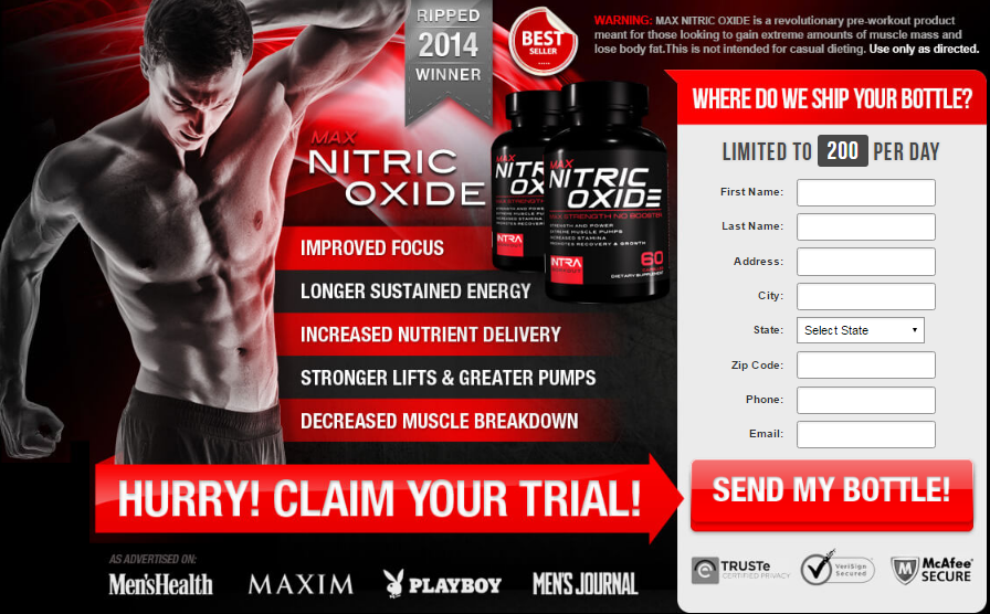 Max Nitric Oxide